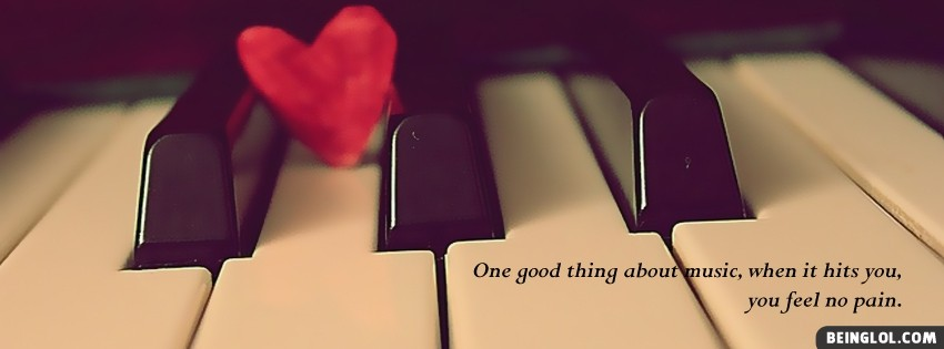 Good Thing About Music Facebook Cover