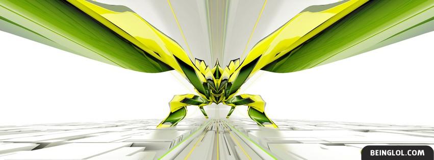 Green Bug Facebook Cover