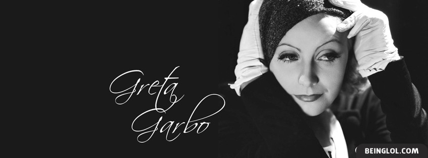 Greta Garbo Facebook Cover