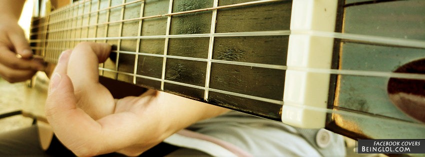 Guitar Playing Facebook Cover