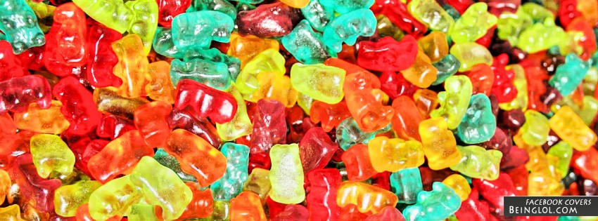 Gummy Bears Facebook Cover