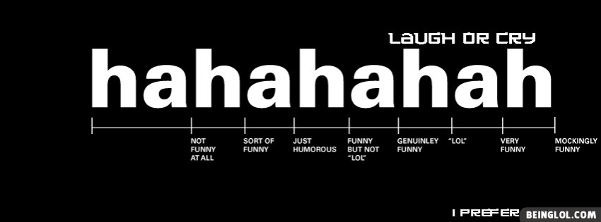 Hahahaha Meaning Facebook Cover