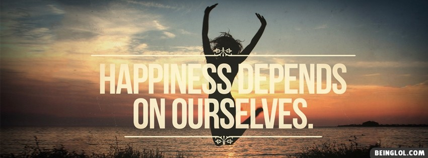 Happiness Depends On Facebook Cover