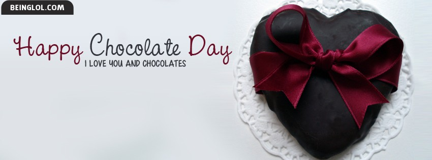Happy Chocolate Day 2014 Facebook Cover