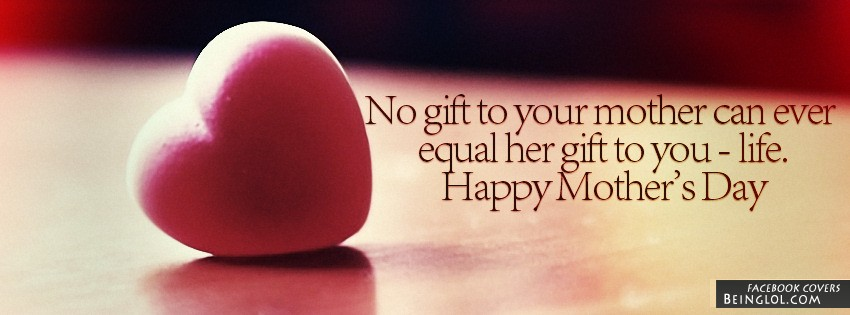 Happy Mother's Day Facebook Cover