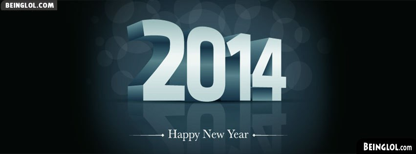 Happy New Year 2014 Facebook Cover