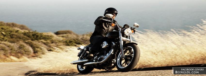 Harley Davidson XL 883L Sportster 883 Facebook Cover