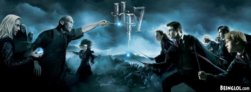 Harry Potter And The Deathly Hollows Facebook Cover