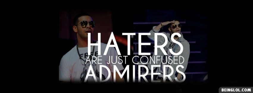 Haters Drake Facebook Cover