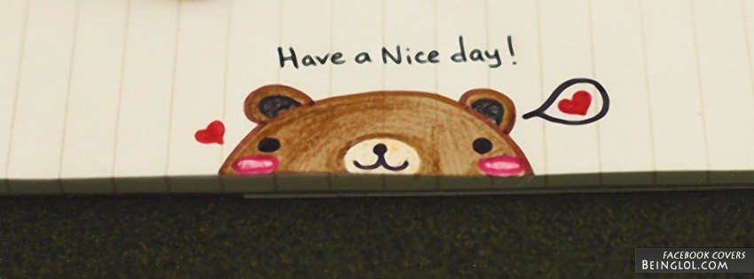 Have A Nice Day Facebook Cover