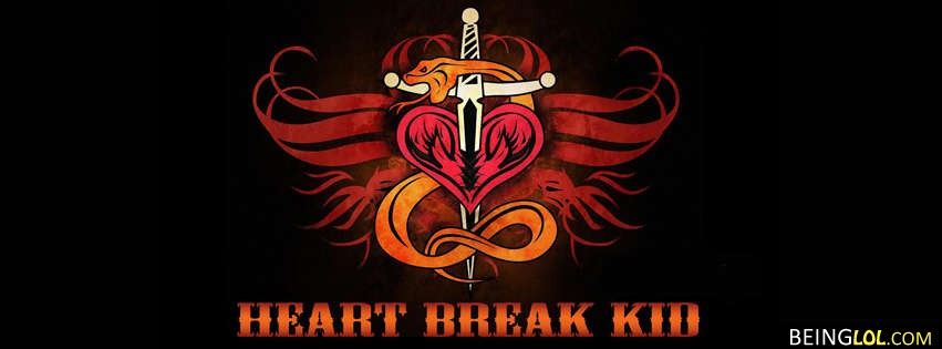 Heart Break Kid Facebook Cover