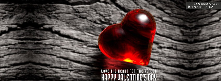 Heart Valentines Day Facebook Cover