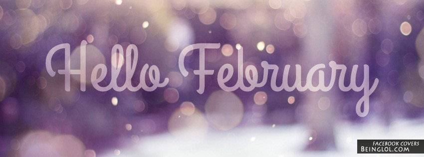 Hello February Facebook Timeline Cover