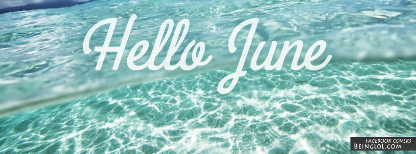 Hello June Facebook Cover