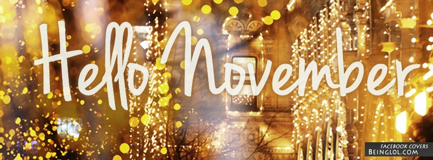 Hello November Facebook Cover