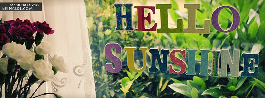 Hello Sunshine Facebook Cover