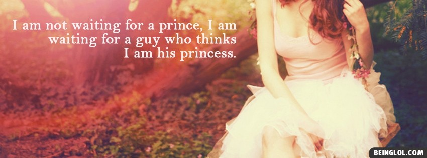 His Princess Facebook Cover
