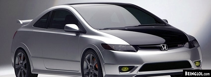 Honda Civic Si Facebook Cover