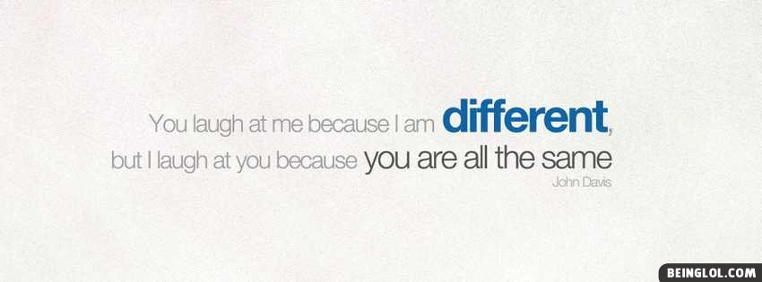 I Am Different Facebook Cover