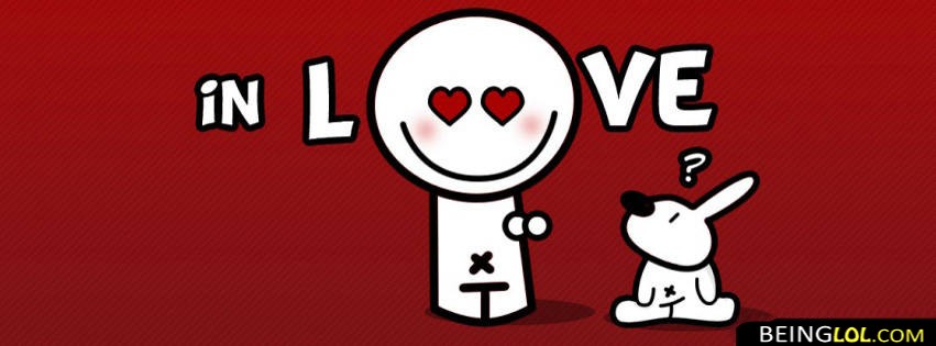 I Am In Love Facebook Cover