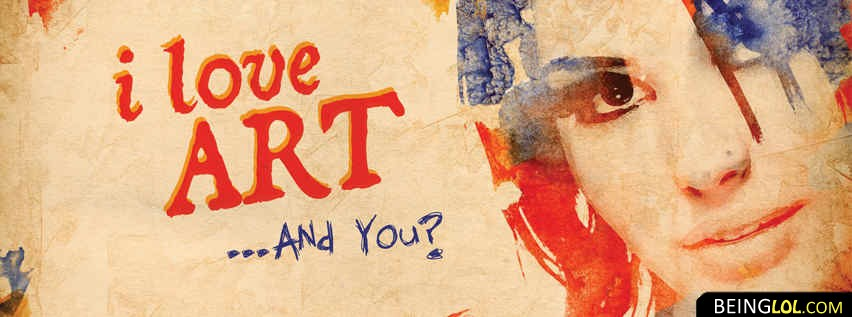 I Love Art Facebook Cover