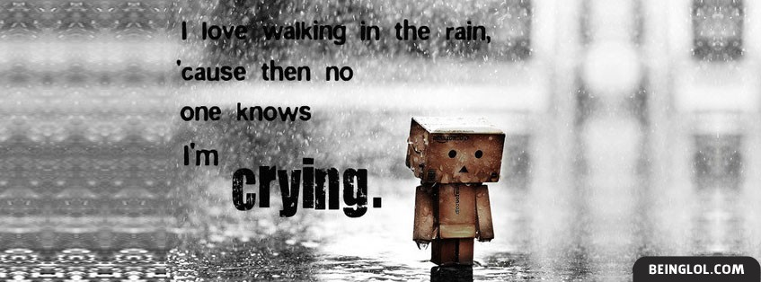 I Love Walking In The Rain 2 Facebook Cover
