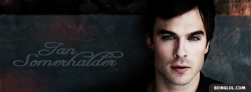 Ian Somerhalder Facebook Cover