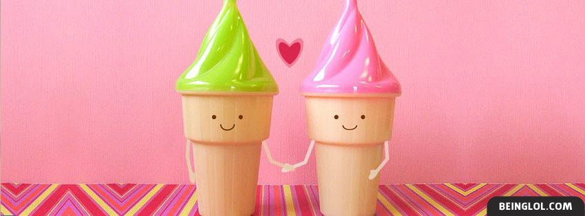 Ice Cream Love Facebook Cover