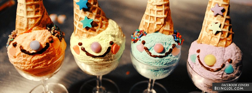 Ice Cream Facebook Cover
