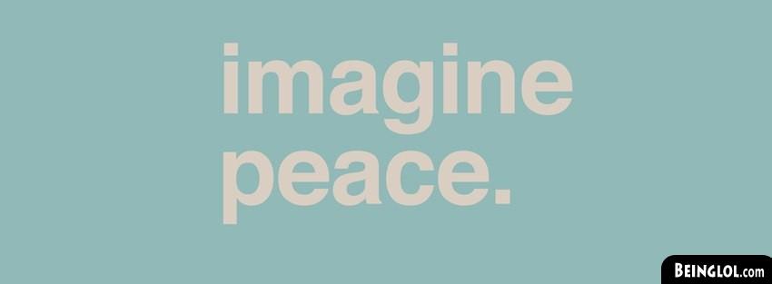 Imagine Peace Facebook Cover