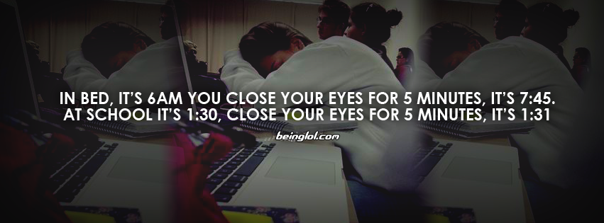 In Bed, It\'s 6am You Close Your Eyes For 5 Minutes Cover