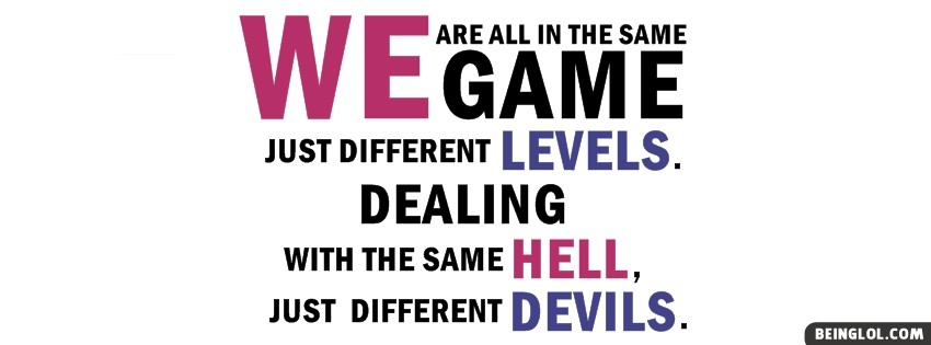 In The Same Game Facebook Cover
