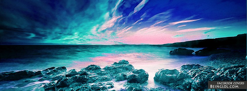 Iridescent Skies Facebook Cover