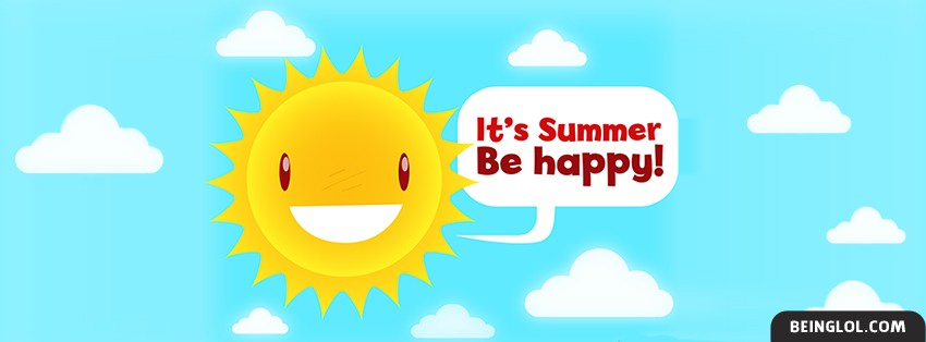 Its Summer Be Happy Cover