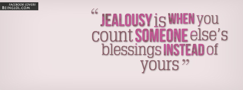 Jealousy Facebook Cover