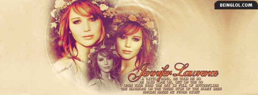 Jennifer Lawrence 2 Facebook Cover