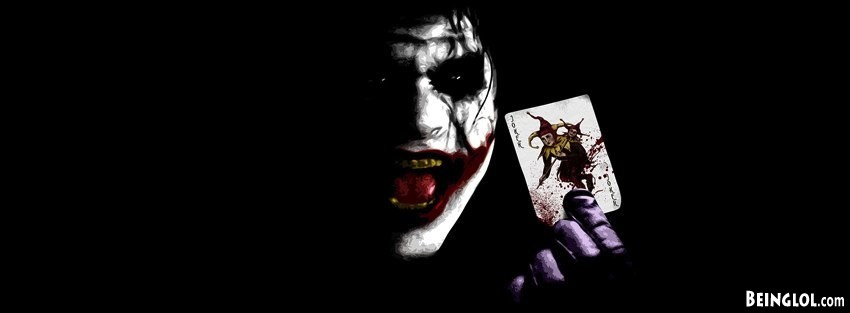 Joker Batman Dark Knight Facebook Cover