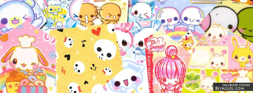 Kawaii Collage Facebook Cover