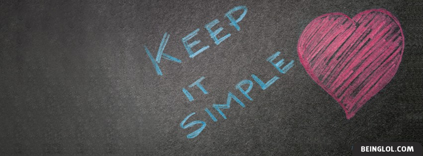 Keep It Simple Facebook Cover