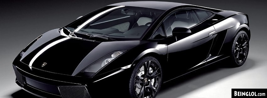 Lambo Gallardo Nera Facebook Cover
