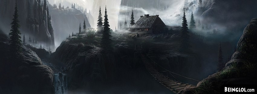 Landscape Fantasy Art Facebook Cover