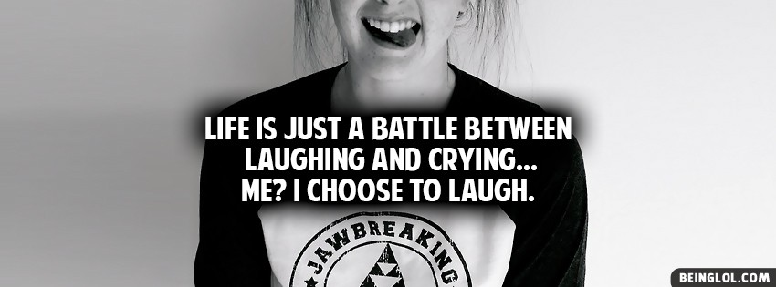 Laughing And Crying Facebook Cover
