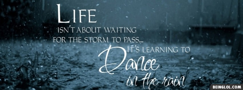 Learning To Dance In The Rain Cover