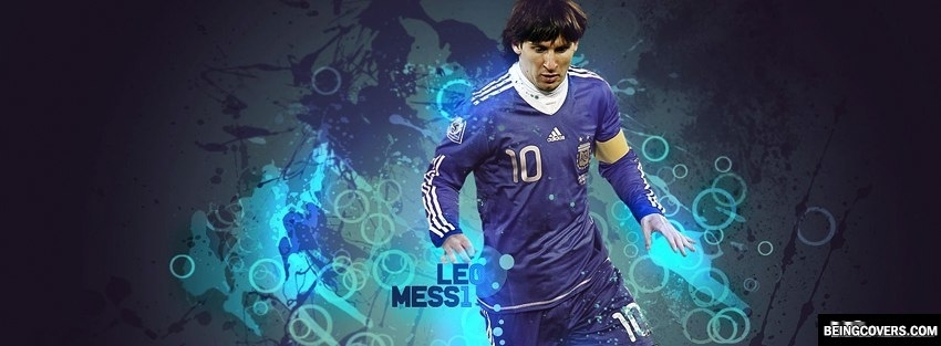 Leo Messi Argentina Facebook Cover