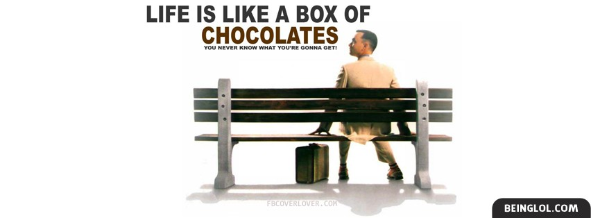 Life is like a box of chocolates Cover