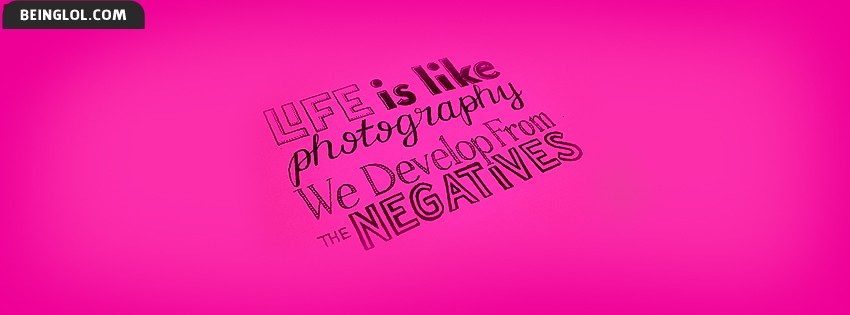 Life Is Like Photography Facebook Cover