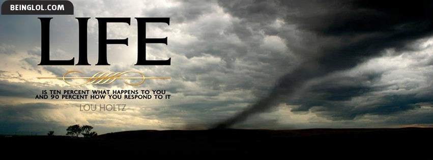 Life Quote Facebook Cover