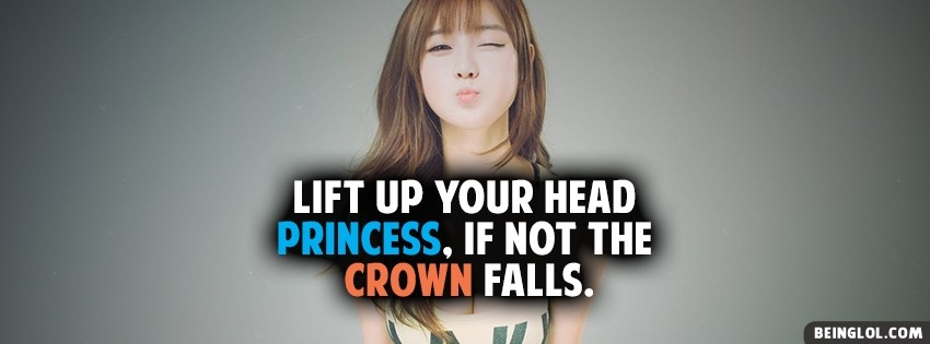 Lift Up Your Head Facebook Cover