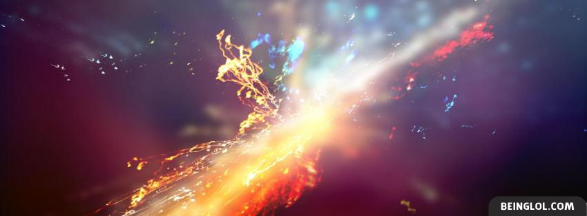 Light Burst Facebook Cover