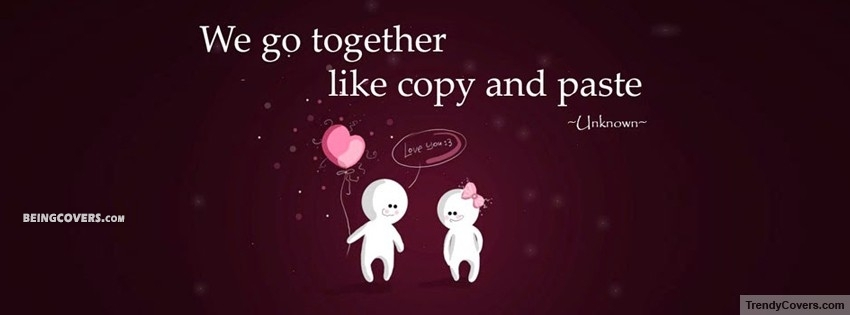 Like Copy And Paste.. Facebook Cover